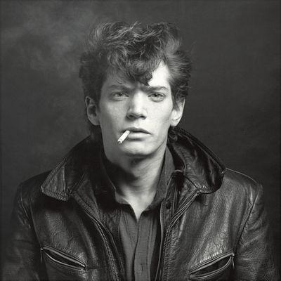 Robert Mapplethorpe Självporträtt 1980