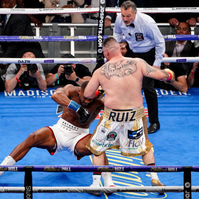 Anthony Joshua knockas av Andy Ruiz.
