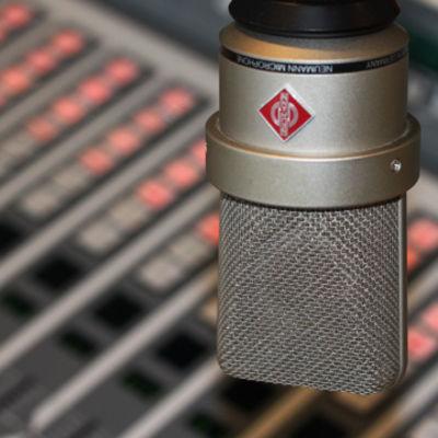 Mikrofon i radiostudio