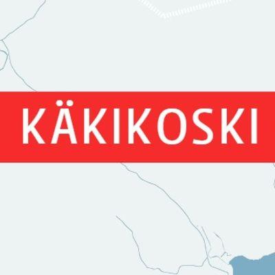 Karta över Käkikoski gamla såg och Lappträsk Kapellby