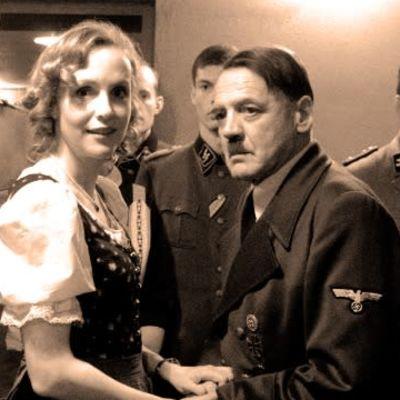 Ett kollage med bilder från filmer om andra världskriget.