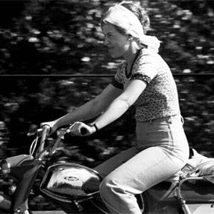 Mopedist på 1970-talet