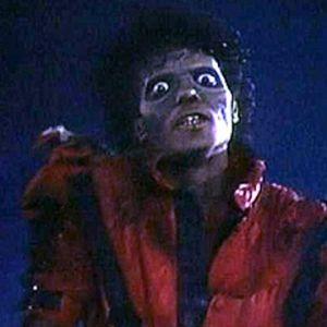 Michael Jackson i musikvideon Thriller.