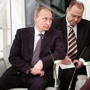 Putin och Halonen på Talludden