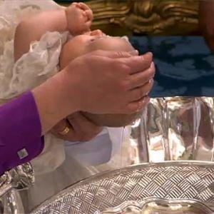 Prinsessan Estelle döps i Stockholm.