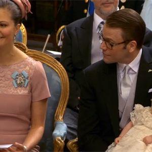 Prinsessan Estelles dop i Stockholm.