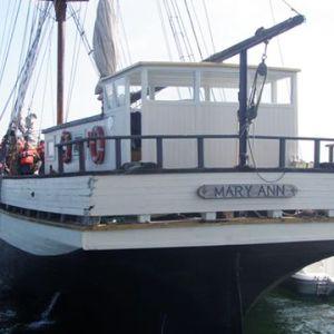 Segelfartyget Mary Ann