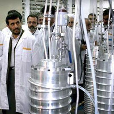En kärnanläggning i Iran