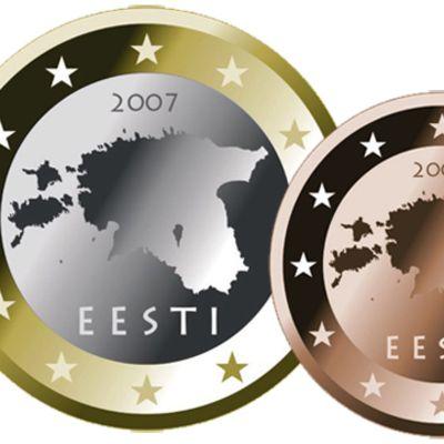 Estniska euromynt
