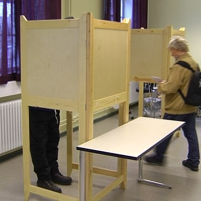Röstning i vallokal