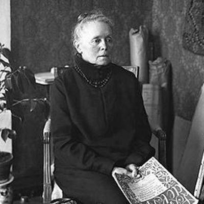 Helene Schjerfbeck i Ekenäs år 1927