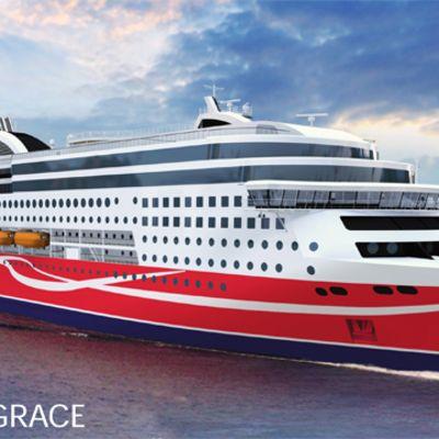 Viking Grace skall trafikera mellan Åbo och Stockholm