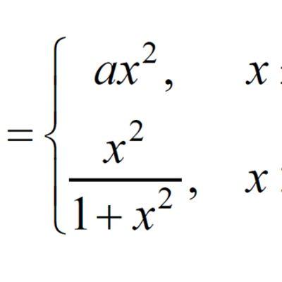 Alltså x är ... något och ... funktionen i kvadrat... x ... shit.