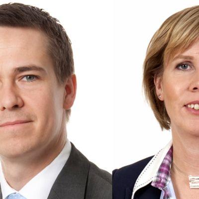 Carl Haglund och Anna-Maja Henriksson