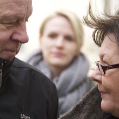 Sixten Lundberg, Sophila Heikkilä, Ragni Grönblom