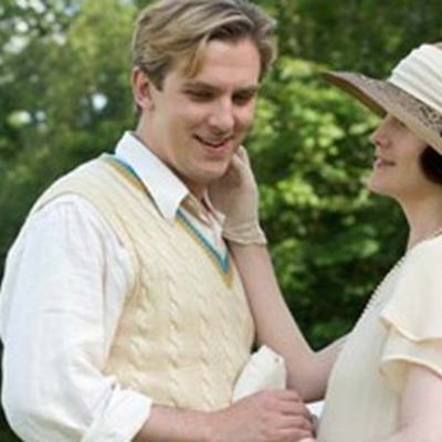 Matthew och Lady Mary ur Downton Abbey