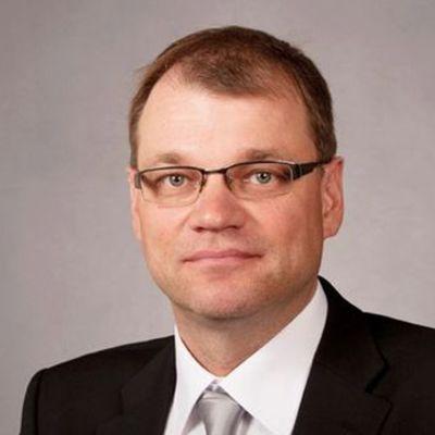 Centerns ordförande Juha Sipilä