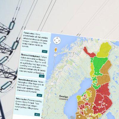 Eldistributionsbolagen i Finland