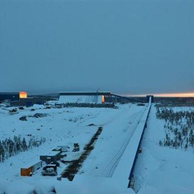 Northlandin kaivos Kaunisvaarassa