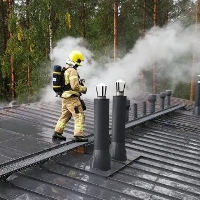 Tulipalon sammutusta