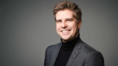 Johan Aaltonen, innehållschef på Svenska Yle