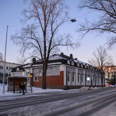 Stadsvy i Borgå.