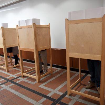 Förhandsröstningen inför kommunalvalet inleddes den 29 mars 2017.