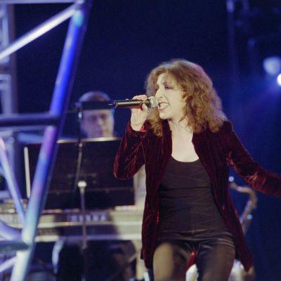 """Muska ohjelmassa """"Estradilla"""" vuonna 2000."""