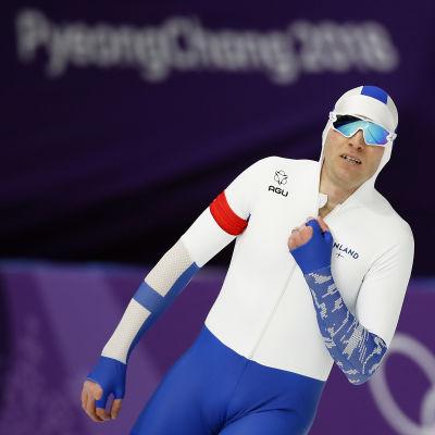 Mika Poutala missade knappt en OS-medalj för andra gången i karriären.