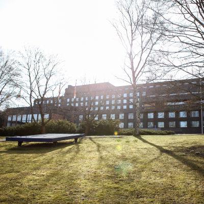 Självständighetsskvären i Åbo.