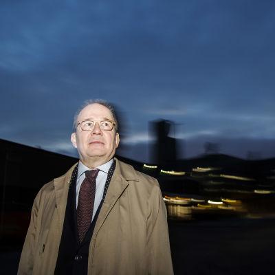 Kuvassa on Antti Pelttari, joka vieraili Ylen aamussa 30. lokakuuta 2020.
