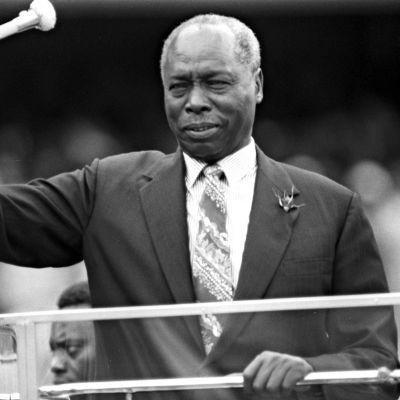 Daniel arap Moi vuonna 1988.