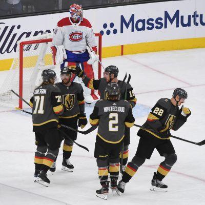 Vegas besegrade Montreal med 4–1.