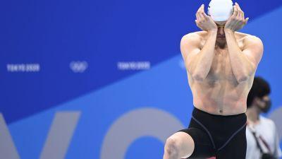 Ari-Pekka Liukkonen i OS i Tokyo.