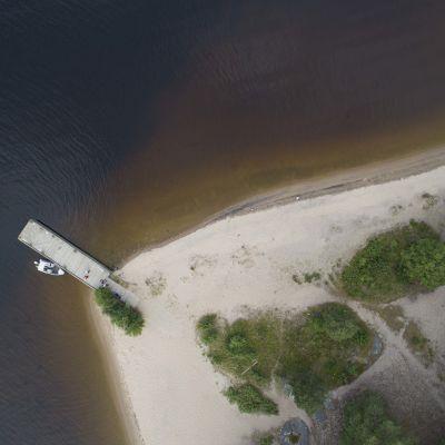 Hietasalon saari.