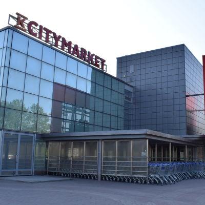 Citymarket i Kuppis fotad utifrån.