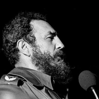 Fidel Castro talar i Havanna 1978.