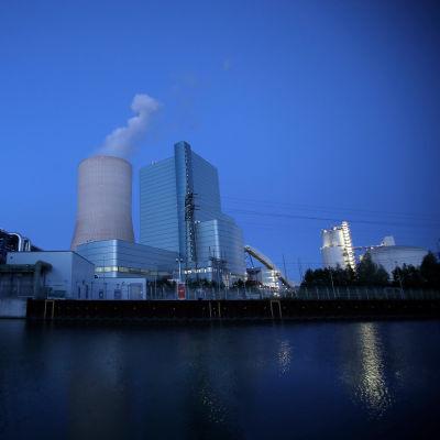 Kraftverket Datteln 4 i Datteln i Tyskland den 28 maj.