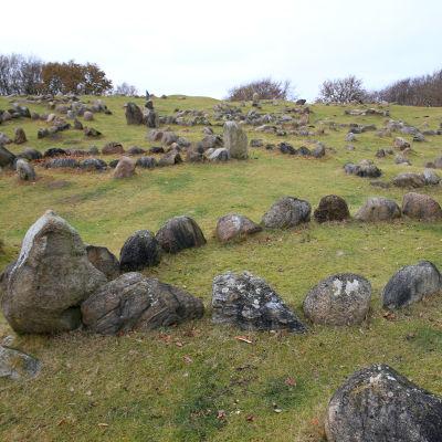 Vikingagravar i Norresundby i Danmark