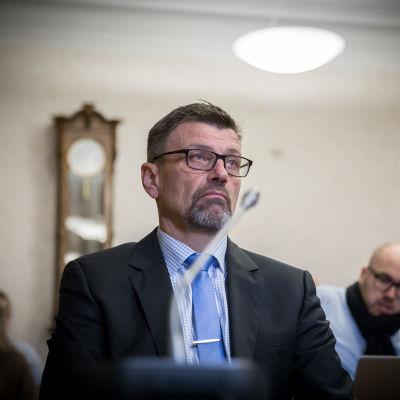Valtakunnansyyttäjä Matti Nissinen, oikeuskäsittely, Korkein oikeus, 15.11.2017.