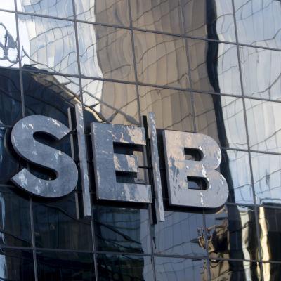 SEB:s byggnad i Tallinn den 1 december 2019