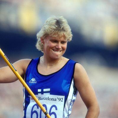 Heli Rantanen vuonna 1992