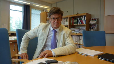 Korsholms kommundirektör Rurik Ahlberg