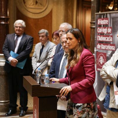 Medlingskommissionen som leds av juristen Eugenia Gay.