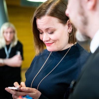 Eduskuntavaalit 2019. Pikkuparlamentin tulosilta. Katju Aro.