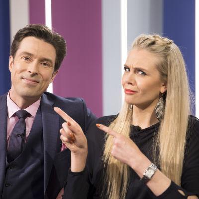 Susanna Laine ja Jussi-Pekka Rantanen