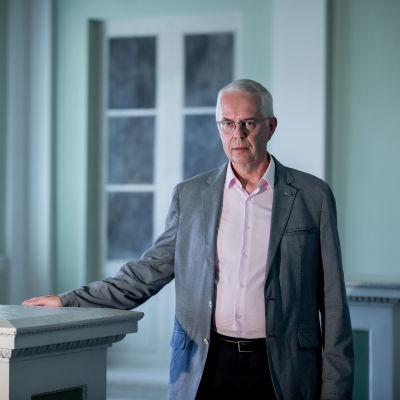 Valtionvarainministeriön budjettipäällikkö Hannu Mäkinen, VM, Helsinki, 3.8.2018.