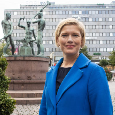 Heidi Schauman, chefsekonom vid Swedbank.