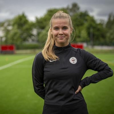 Jalkapalloilija Amanda Rantanen
