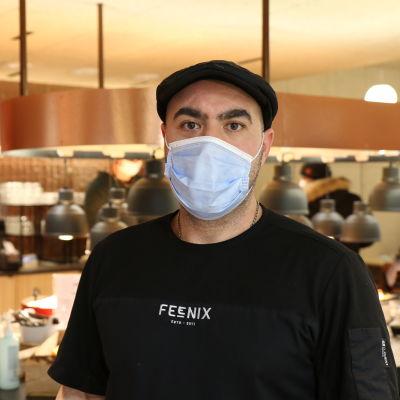 Yrittäjä Kami Abdeh, ravintola Feenix